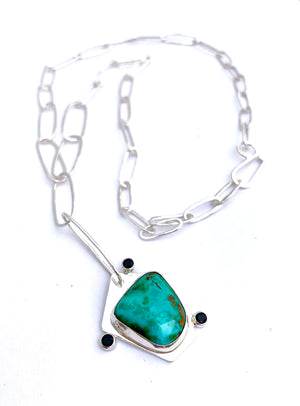 GOOD VIBES TURQUOISE NECKLACE