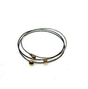 3 SET OF ORBITAL BANGLES