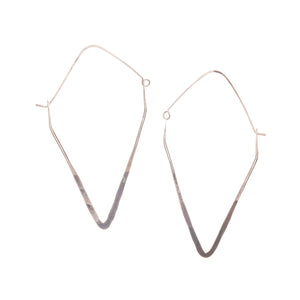 TRIANGLE LARGE HOOPS