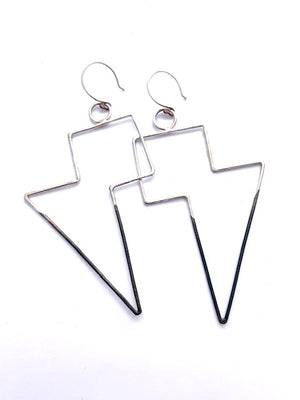 ICON LIGHTNING BOLT EARRINGS