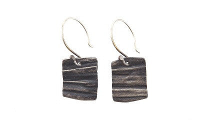 Continental Divide Earrings Silver
