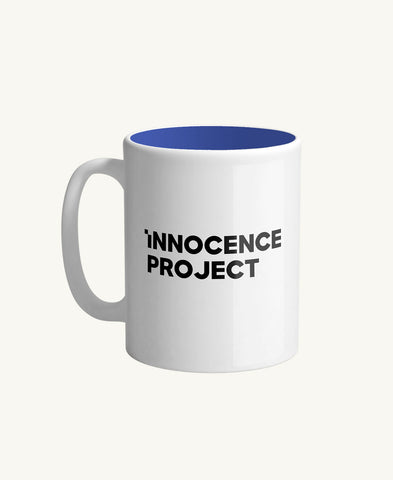 Innocence Project 11oz Mug White/Blue