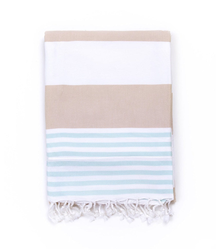SEASHORE CHILD'S TOWEL TERRY-LINED