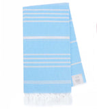 NATURAL TOWEL LIGHT BLUE