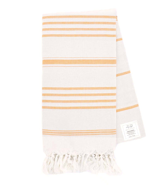 NATURAL TOWEL NATURAL WITH MANGO STRIPES