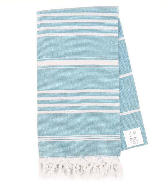 NATURAL TOWEL TEAL
