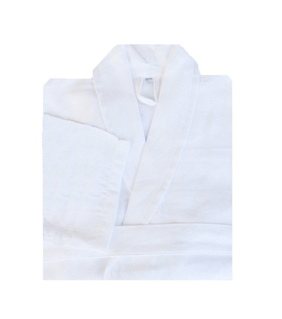 White Super Soft Bathrobe