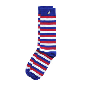 """USA"" Patriotic 3-Pack Dress / Casual Socks. American Made Gift Bundle"