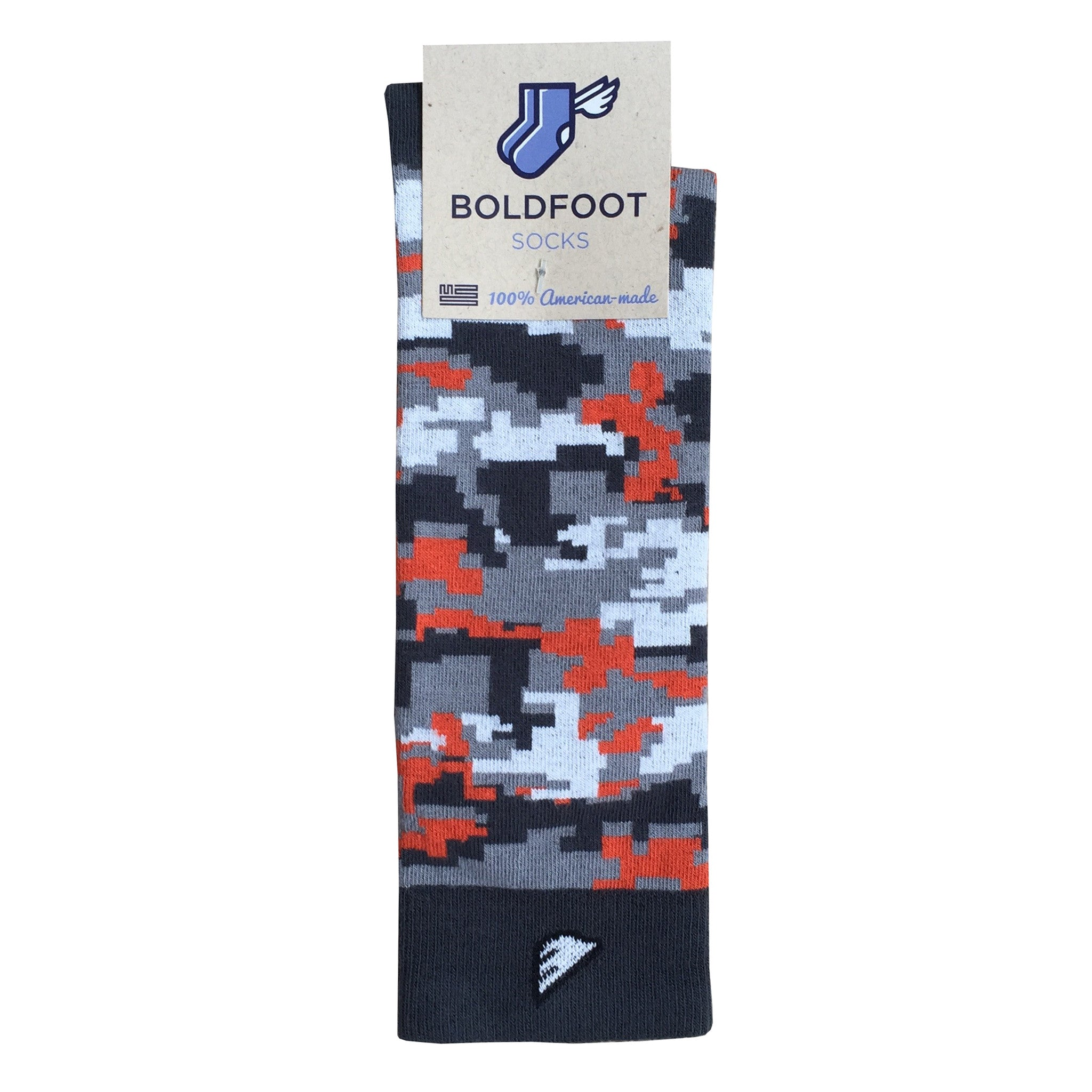 d1fe39896eee Oklahoma State Digital Camo Camouflage Digicamo Quality Fun Unique Crazy Dress  Casual Socks Orange Grey White