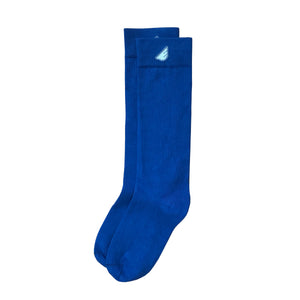 Premium Solids - Royal Blue. American Made Dress Socks