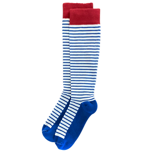 "Patriotic ""USA"" 3-pack of American Made 15-20mmHg OTC Compression Socks"
