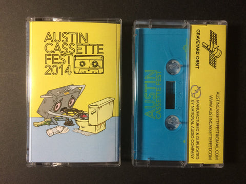 Various Artists - Austin Cassette Fest Compilation 2014 - Cassette