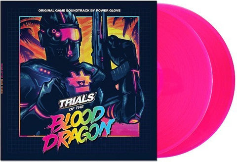 "Power Glove - Trials Of The Blood Dragon (original Soundtrack) - 2 x 12"" Pink Vinyl"
