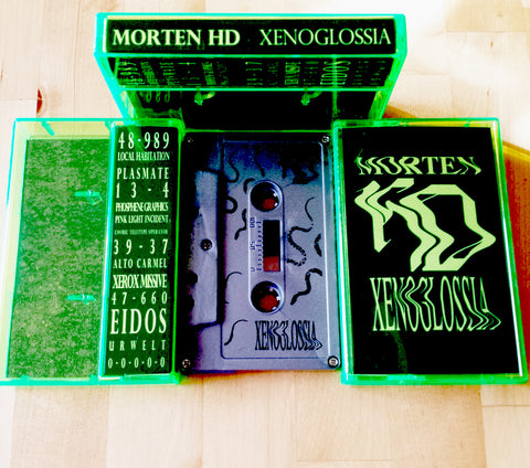 Morten HD - Xenoglossia - Limited Edition Silver Cassette