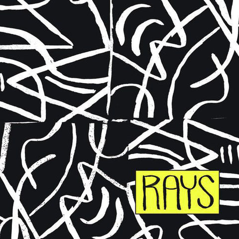 Rays  ‎– Rays - Yellow Vinyl LP