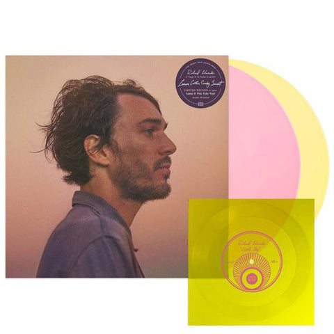 Richard Edwards - Lemon Cotton Candy Sunset - 2 x Lemon & Pink Vinyl LP + Flexi / DL