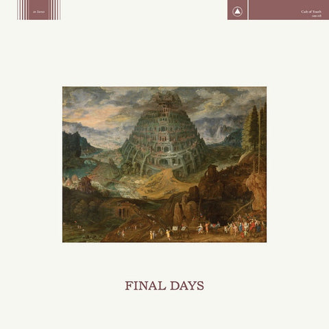 "Cult of Youth - Final Days - 12"" Vinyl"