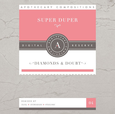 Super Duper - Diamonds & Doubt - Limited Edition Red Cassette / Digital