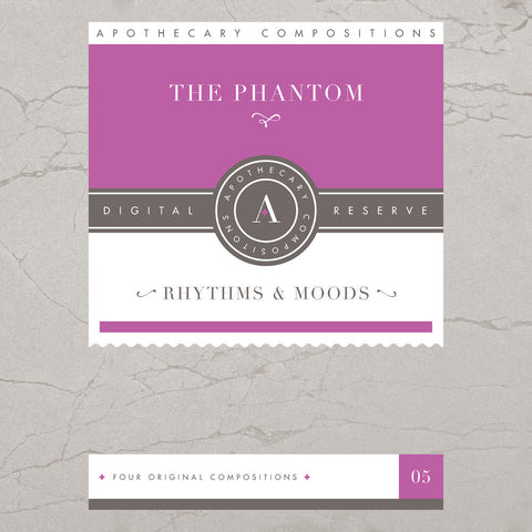 The Phantom - Rhythms & Moods - Limited Edition Purple Cassette / Digital