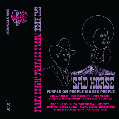 Sad Horse - Purple On Purple Makes Purple - Cassette