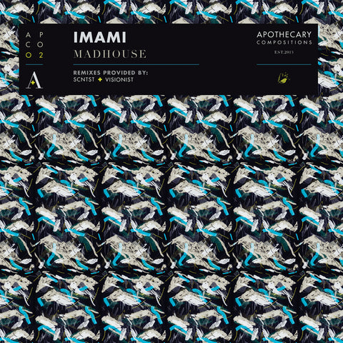 "Imami - Madhouse - Limited Edition White 12"" Vinyl / Digital"