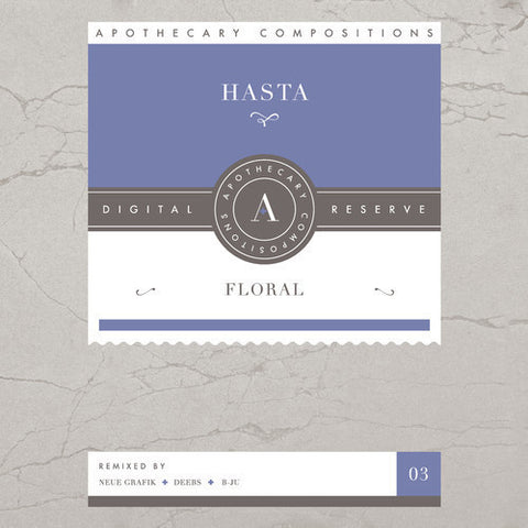 Hasta - Floral - Limited Edition Blue Cassette / Digital
