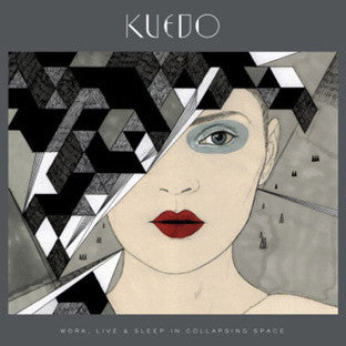 "Kuedo - Work, Live and Sleep in Collapsing Space - 12"" Vinyl"