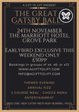 Great Gatsby Ball - 6 people