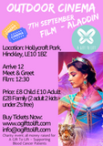 Outdoor Cinema - Aladdin  - Family
