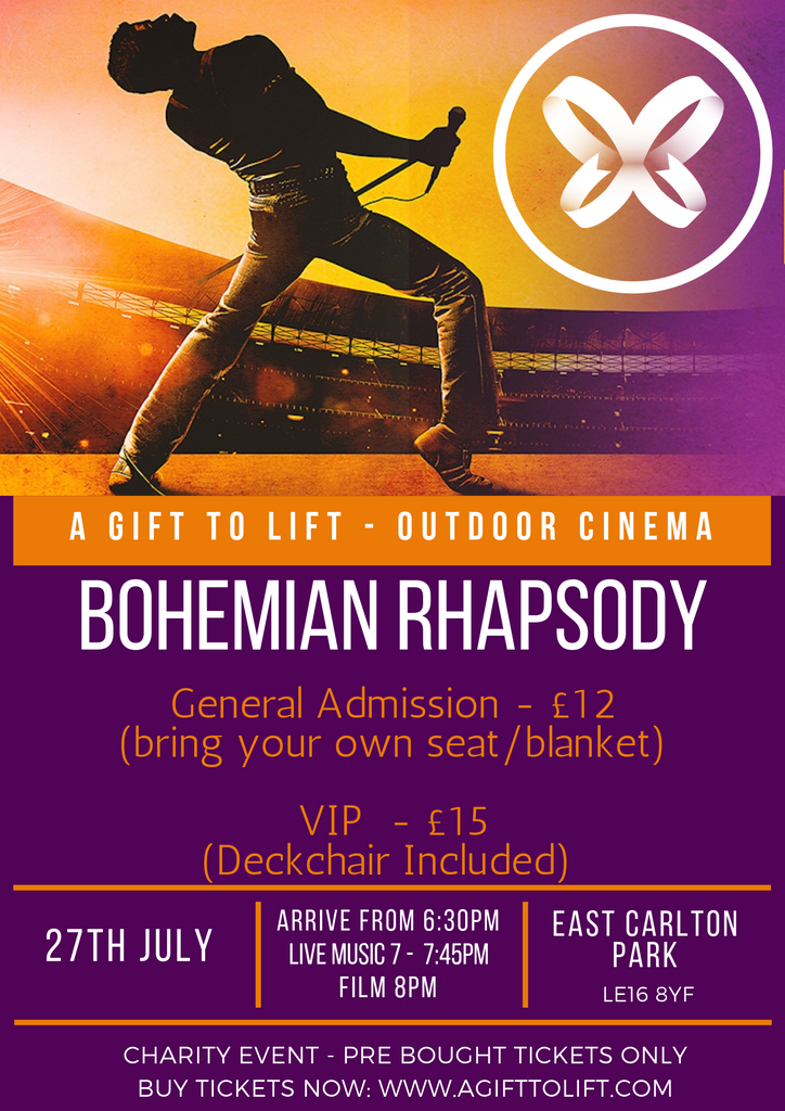 East Carlton Park Outdoor Cinema Bohemian Rhapsody General Entry