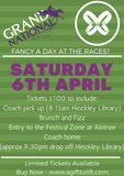 Grand National Ticket - A Day At The Races