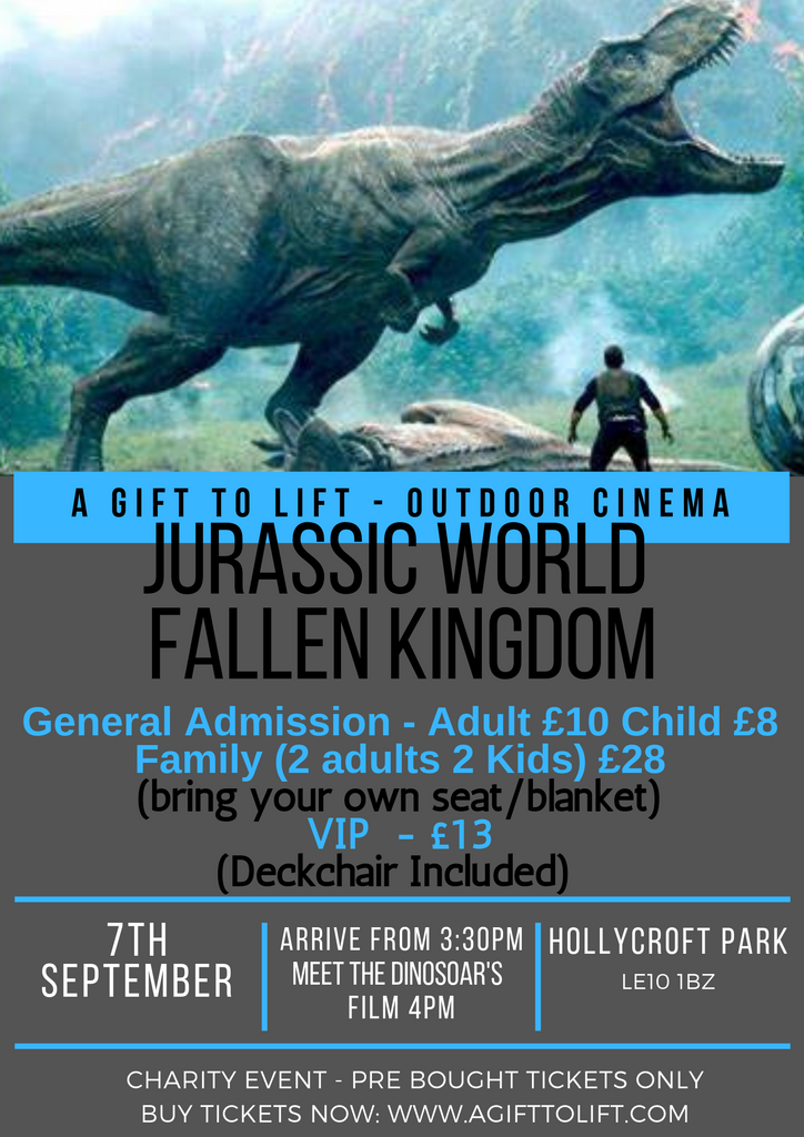 Outdoor Cinema - Juarrasic World - Family