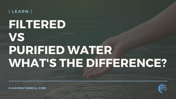 Filtered Water vs. Purified Water - What's the Difference?