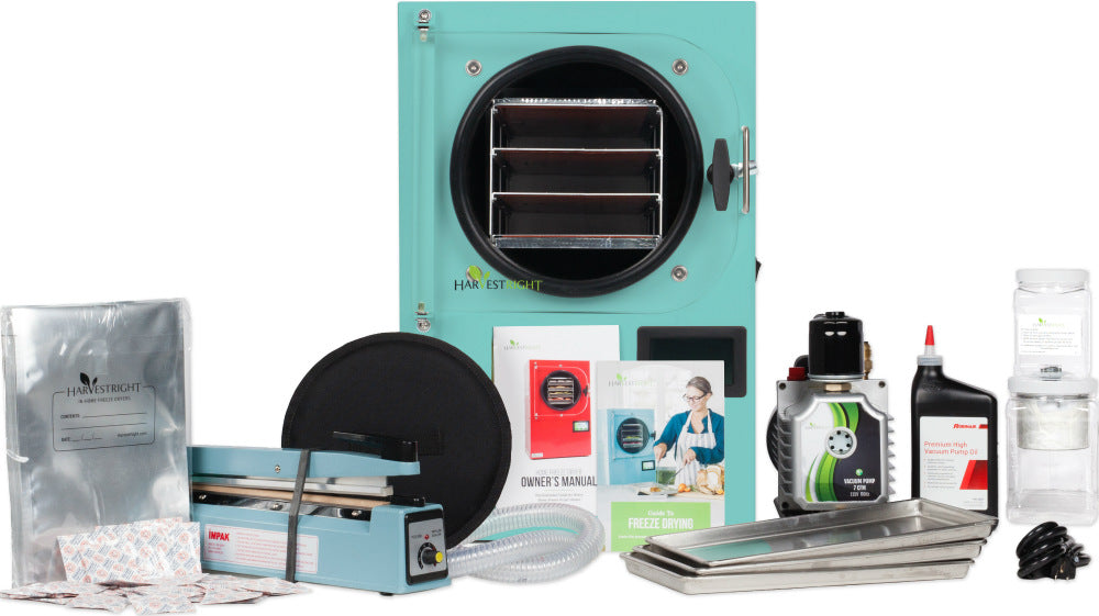 Harvest Right™ Freeze Dryer - Teal - Everything In The Box