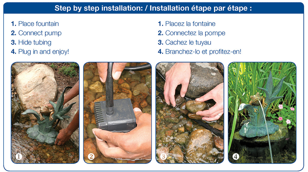Poly-Resin Spitter Step by Step Installation Instructions by Aquascape