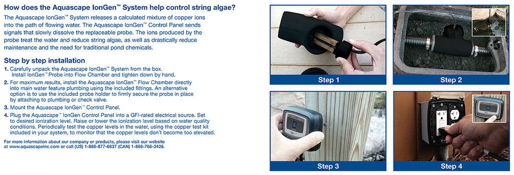 IonGen™ System G2 Electronic Algae Controller Step by Step Installation by Aquascape