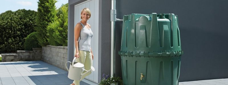 Graf- 430 Gallon Rainwater Collection Tank