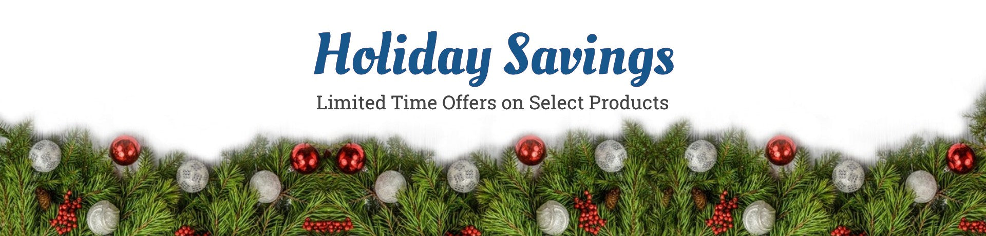 Holiday Savings at Clean Water Mill