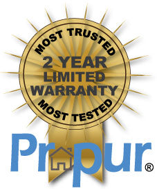 Propur® Home 2 year Warranty