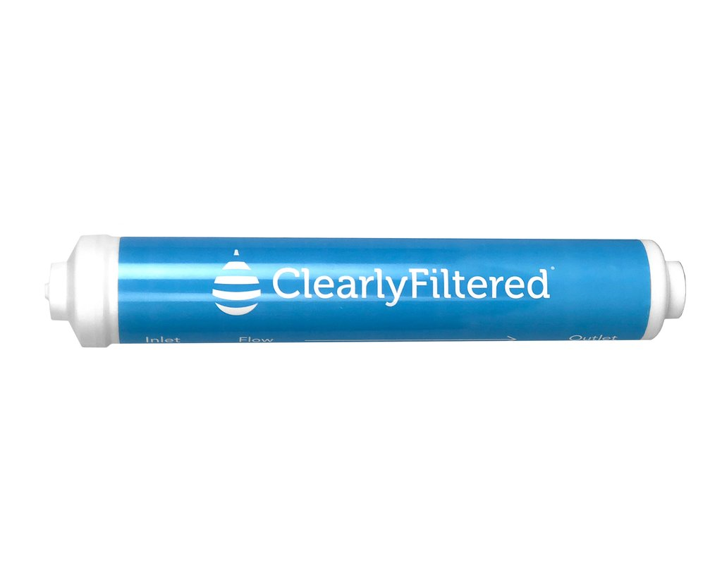 Clearly Filtered™ Universal Inline - Refrigerator Filter