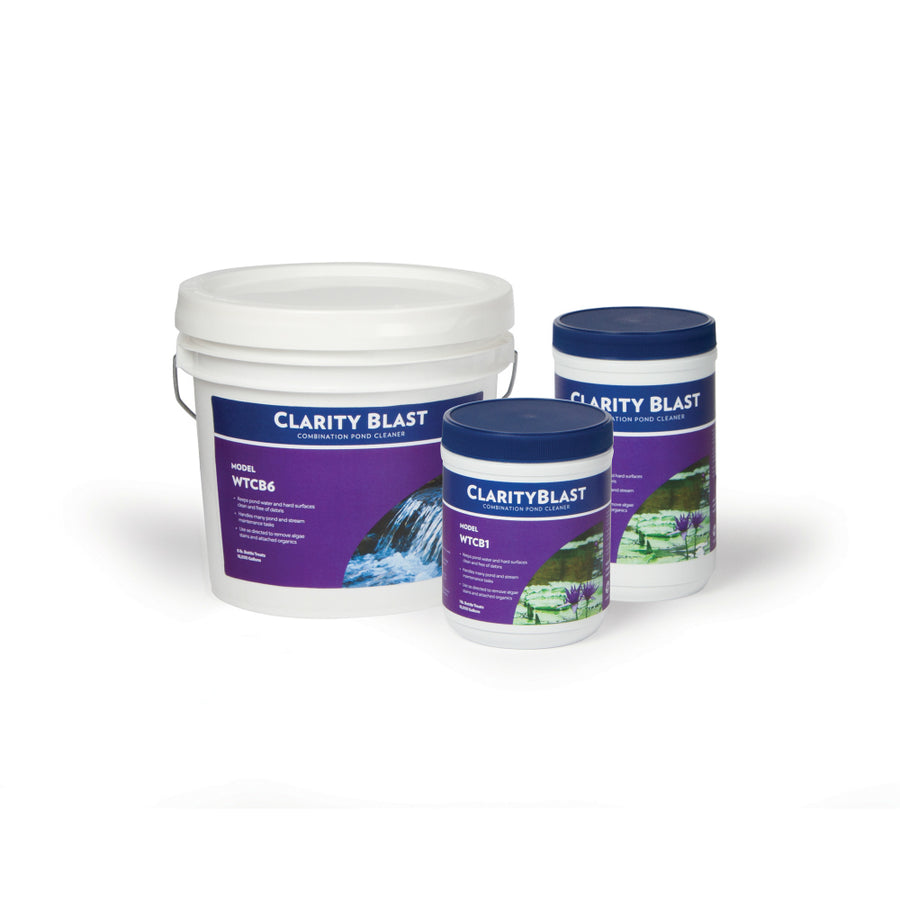 Clarity Blast Combination Pond Cleaner