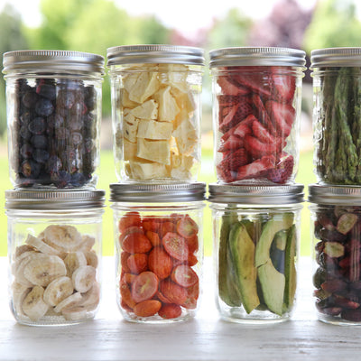 Harvest Right™ Freeze Dried Fruits and Vegetables in Jars