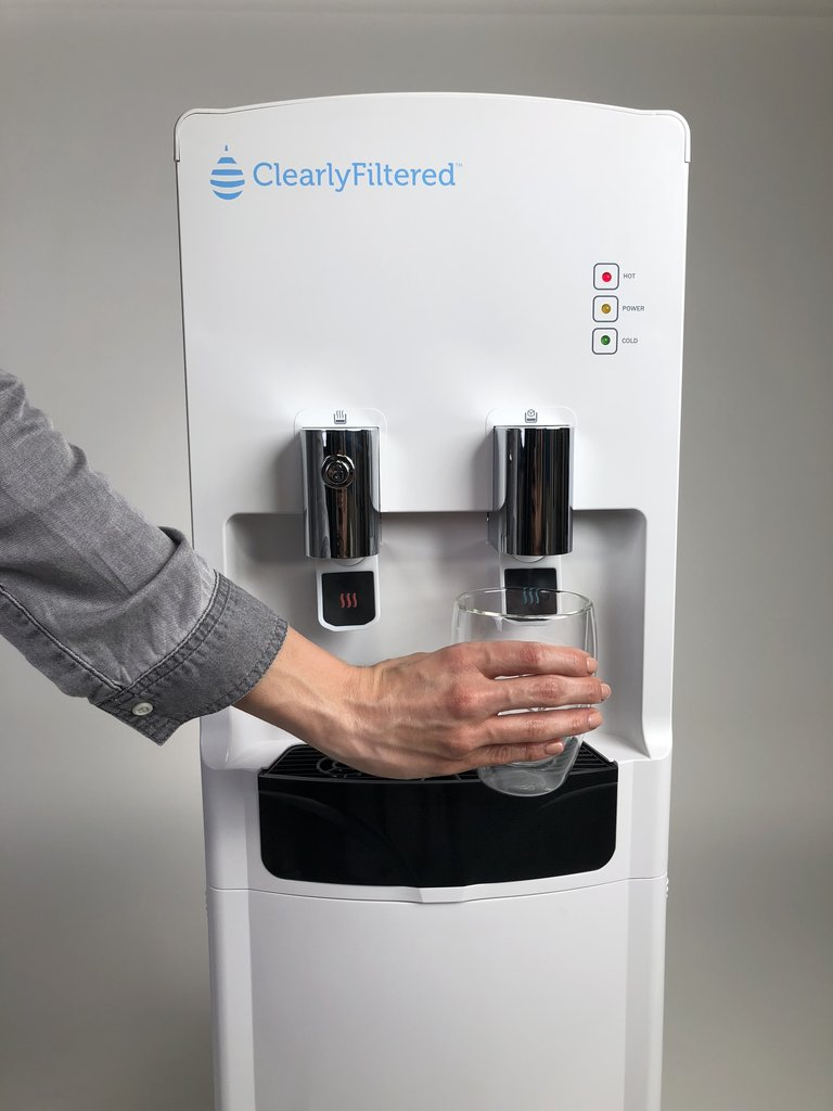 Clearly Filtered™ Water Tower - Ultimate Water Dispenser - Main View