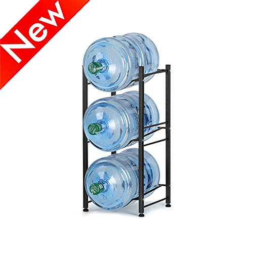 Nandae Water Cooler Jug Rack, 3-Tier Heavy Duty Water Bottle Holder Storage Rack