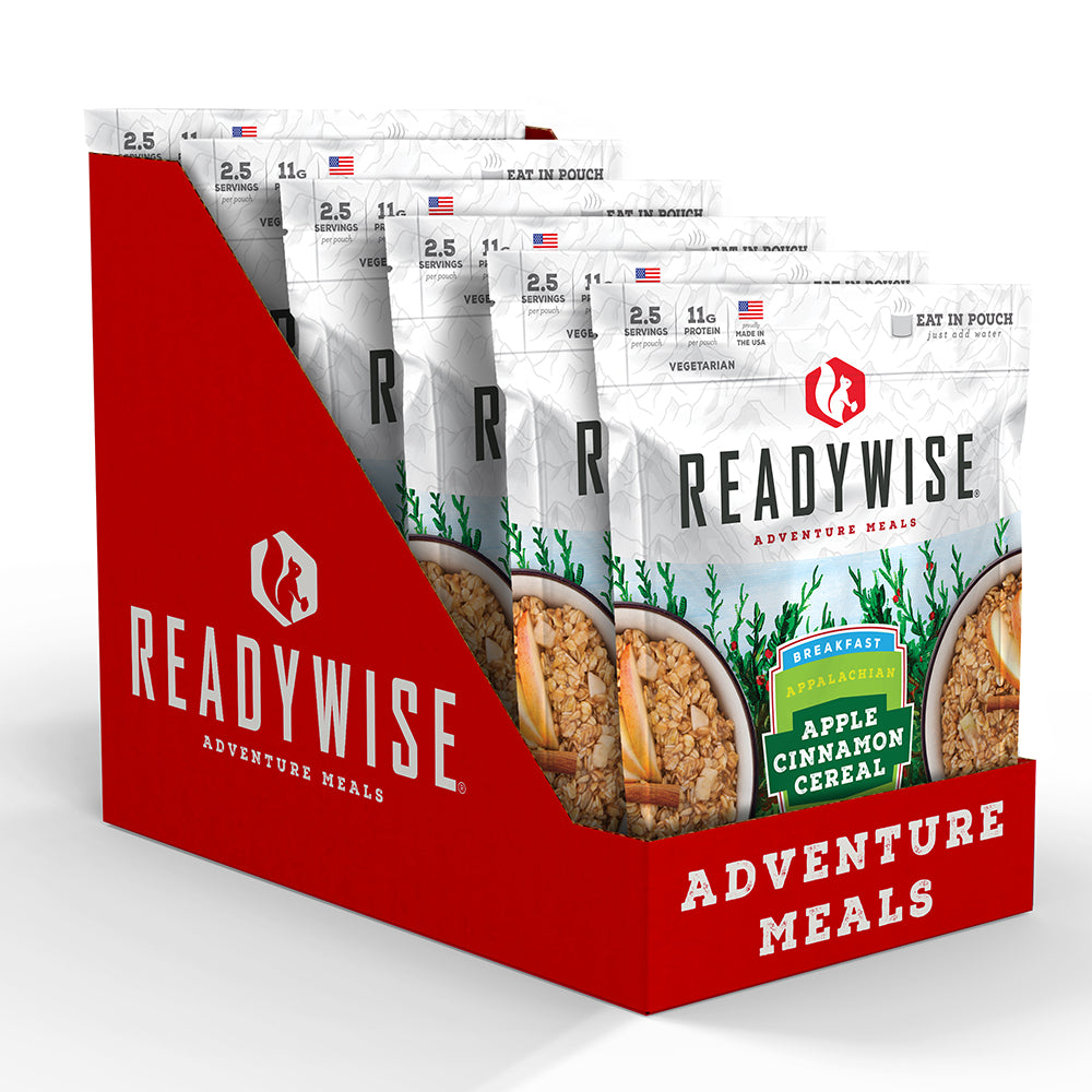 ReadyWise™ Appalachian Apple Cinnamon Cereal 6 Pack - Box