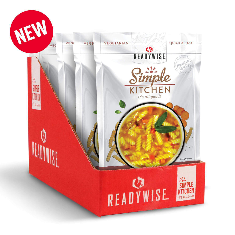 Simple Kitchen Classic Chicken Noodle Soup 6 Pack