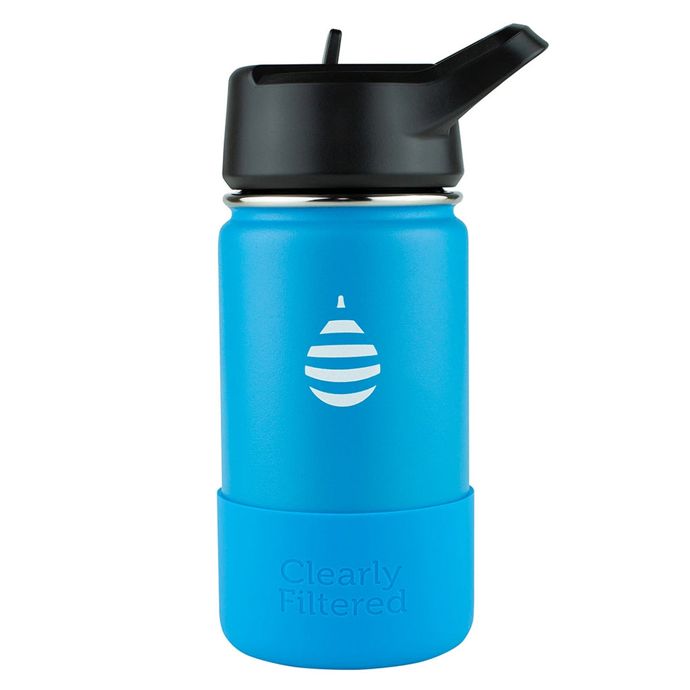 Clearly Filtered™ - NEW - Junior Insulated Stainless Steel Filtered Water Bottle