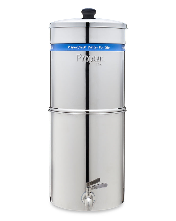 Propur® Gripper Polished Big - Gravity Fed Water Filtration System