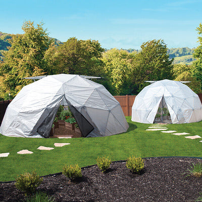Harvest Right™ Geodesic Greenhouse - Garden View