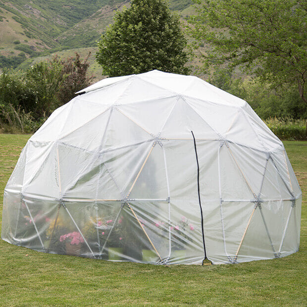 Harvest Right™ 32' Geodesic Greenhouse - Diagram
